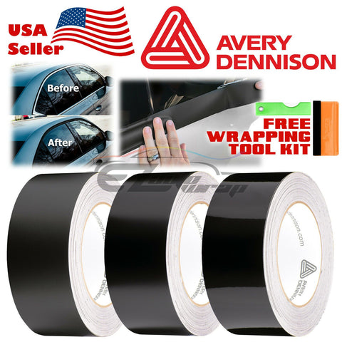 *Avery Dennison Black Vinyl Chrome Delete Kit