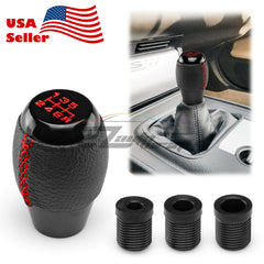 Black 6 Speed Shift Knob Manual JDM Aluminum SK150
