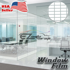 Medium Box Static Glass Film #45