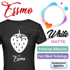 ESSMO™ White Solid Matte DP02 Heat Transfer Vinyl HTV