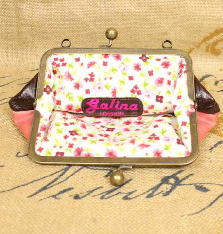 Galina London Gatsby Bag pink and brown - Knot Only - 4