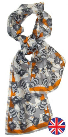 Craig Fellows Geo Bug Scarf - Knot Only - 1