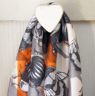 Craig Fellows Geo Bug Scarf - Knot Only - 3