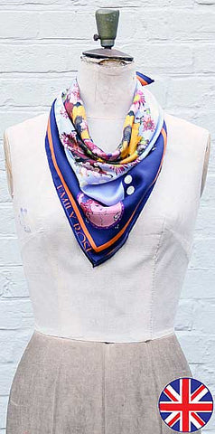 Emily Rose Fairground Scarf - Knot Only - 1