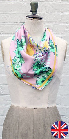 Emily Rose Pearl Scarf - Knot Only - 1