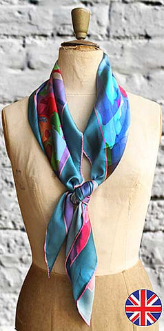 Fabryan Bird of Paradise Scarf - Knot Only - 1