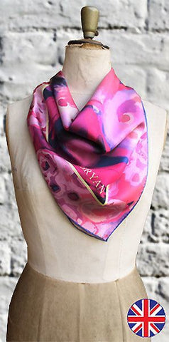 Fabryan Foxglove Scarf - Knot Only - 1