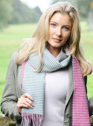 Glen Prince Reversible Scarf - Knot Only - 2