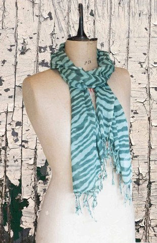 Glen Prince Wool Scarf Olive - Knot Only