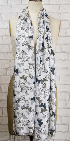 Lola Rose Butterfly Scarf - Knot Only - 1