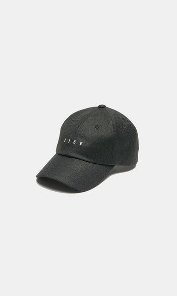 6 Panel Cap - Dark Forest (Cashmere Wool)