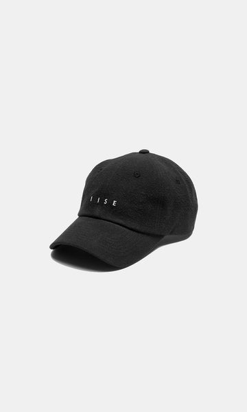 6 Panel Cap - Black Mu Myung