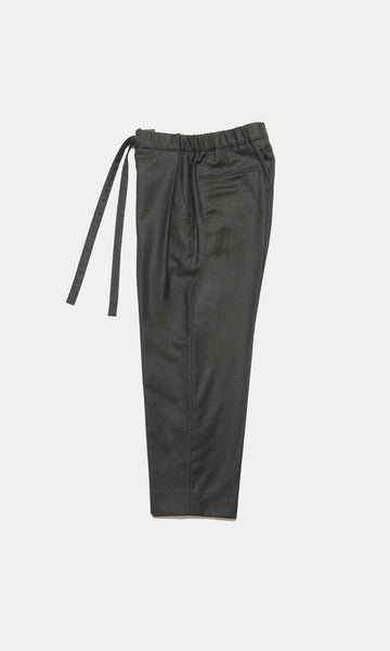 Cropped Pants - Dark Forest Cashmere