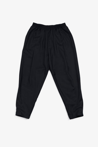 Pleat Pant - Navy Wool