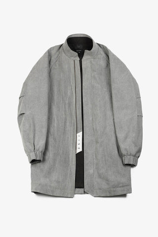 Monk Coat - Grey Natural Dye
