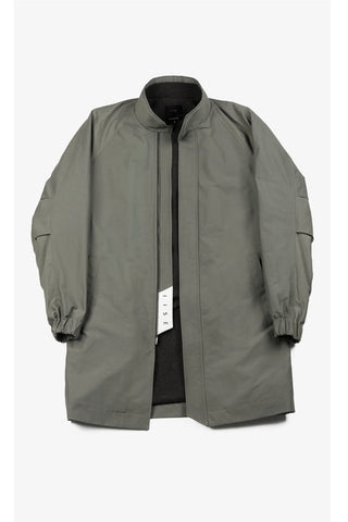 Monk Coat - Military Green