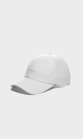 "6 Panel Cap - White ""Mu Myung"""