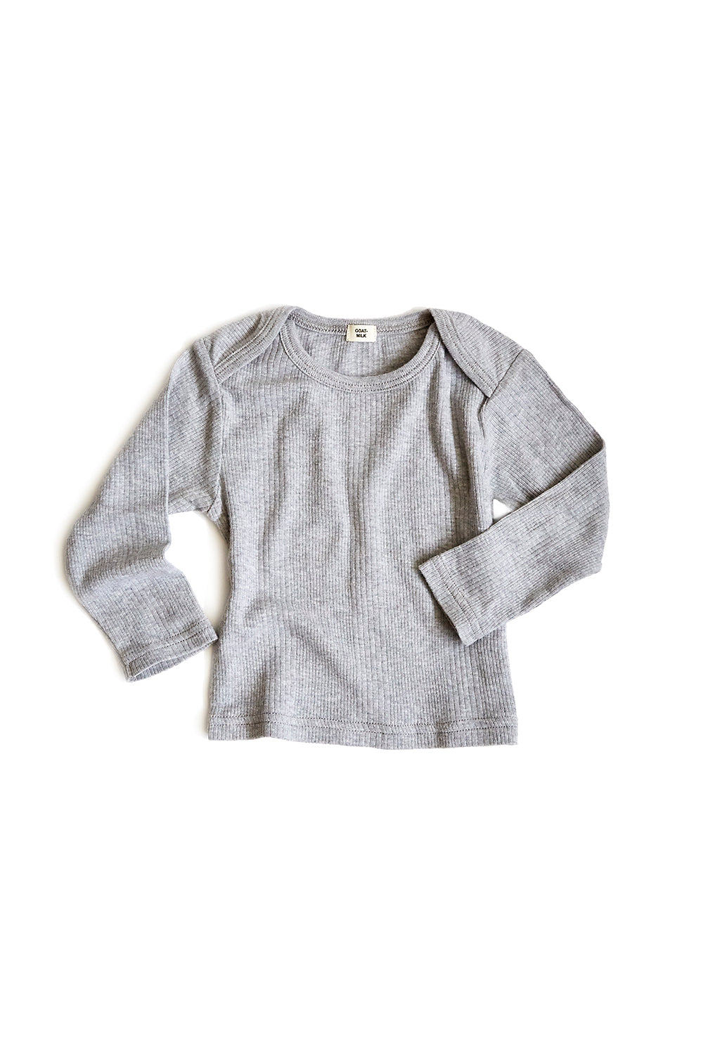baby thermal top (ribbed)