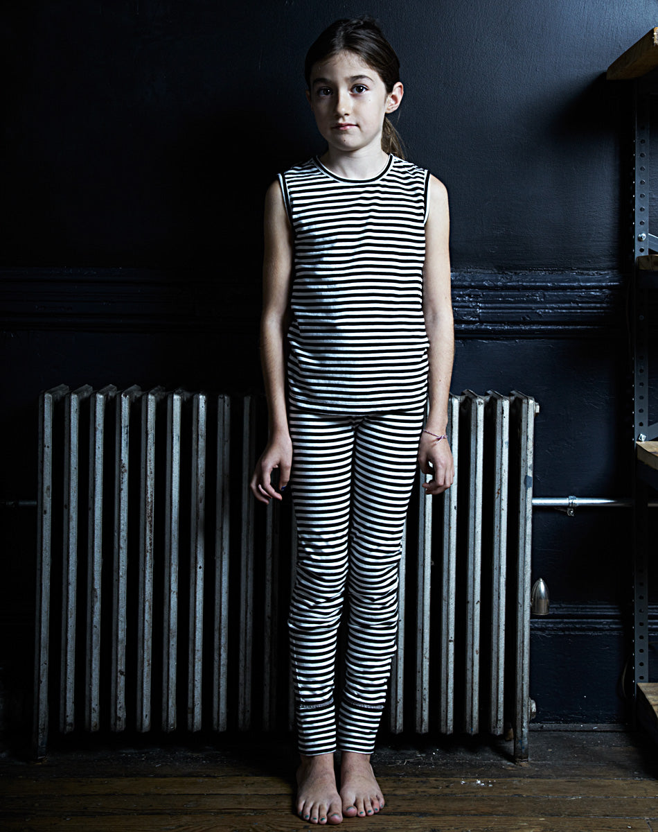 girl's pant (striped)