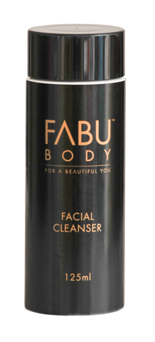 FABU FACIAL CLEANSER 125ml - A non-foaming cleanser that gently and effectively cleanses the skin without MORE……..