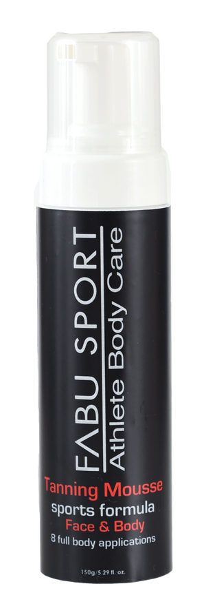 FABU SPORT SPORTS TAN - FAST ACTING WASH 'N GO FORMULA SMUDGE & SWEAT PROOF FOR FACE & BODY