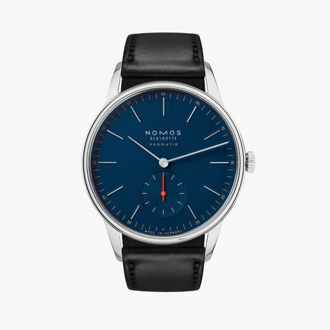 NOMOS Orion Neomatik 39 Midnight Blue (Ref 343)