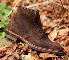 (Pre-Order) Alden Indy Boots in Tobacco Reverse Chamois