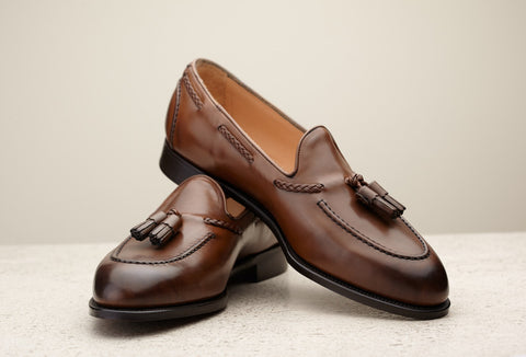 (Pre-Order) Edward Green Belgravia in Dark Oak Antique Calf