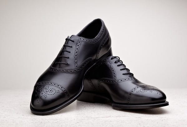 Edward Green Cadogan in Black Calf
