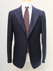 Orazio Luciano Suit in Navy Flannel