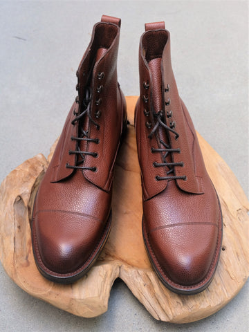 Edward Green Galway in Mahogany Country Calf (Veldtschoen Construction)
