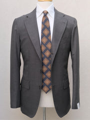 Orazio Luciano Suit in Grey Birdseye Wool (Ariston Napoli)