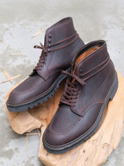 Alden Indy Boots in Dark Brown Kudu