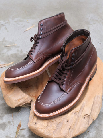 Alden Indy Boots in Brown Chromexcel