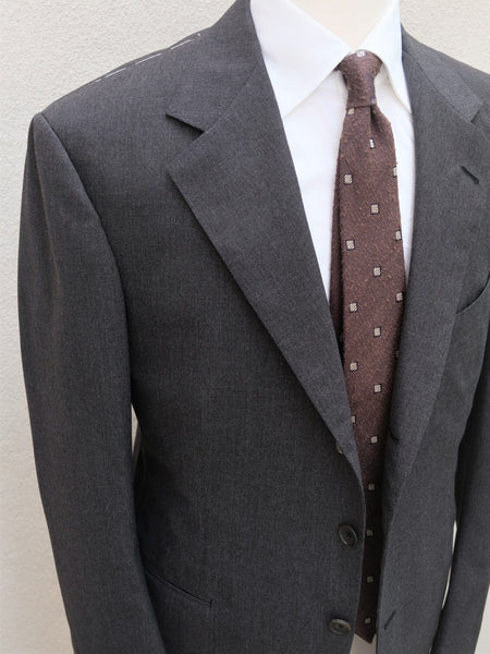 B&Tailor Suit in Charcoal Fresco (Smith Wollens Mill)