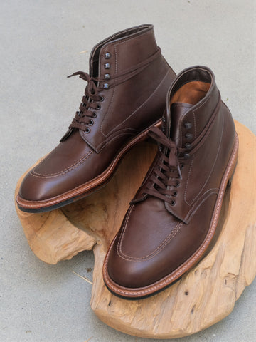 Alden Indy Boots in Brown Rusticalf