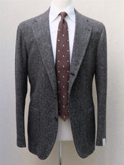 Orazio Luciano Jacket in Grey Donegal Tweed
