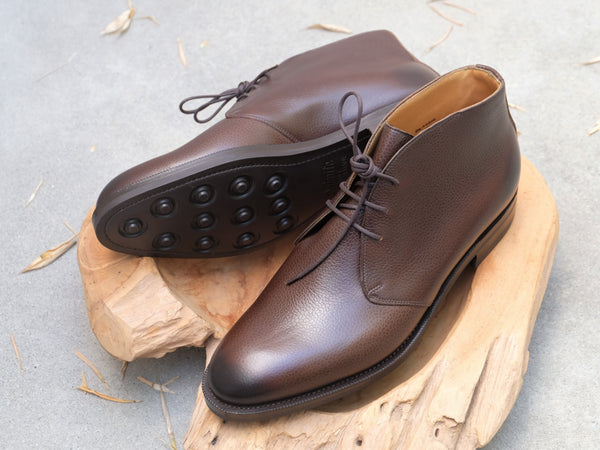 Edward Green Banbury in Walnut Country Calf