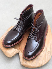 Alden Algonquin V-Tip Boots in Color 8 Shell Cordovan