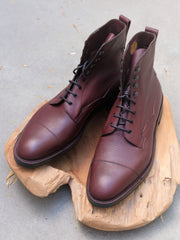(Pre-Order) Edward Green Galway (Veldtschoen) in Oxblood Zug Grain Calf