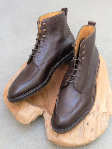 Edward Green Cranleigh Boots in Dark Brown Utah