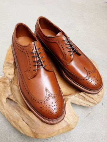 Alden Longwing Blucher (LWB) in Burnished Tan Calf