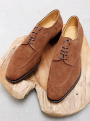 Edward Green Unlined Dover in Snuff Suede