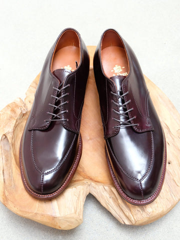 Alden V-Tip Blucher Color #8 Shell Cordovan
