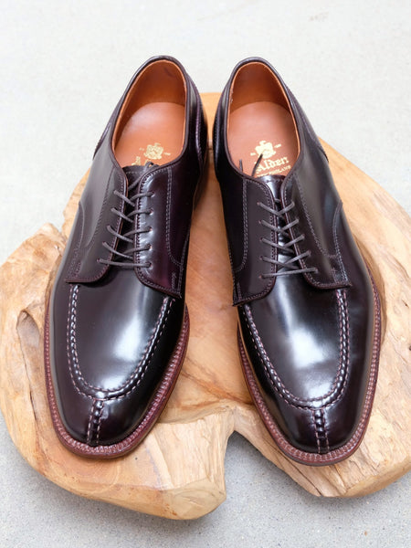 Alden NST Blucher in Color #8 Shell Cordovan - Plaza Last