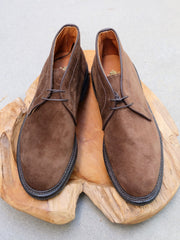 Alden Chukka Boots in Brown Suede