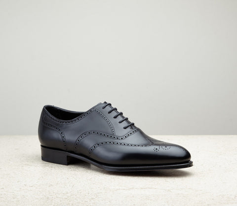 Edward Green Inverness in Black Calf