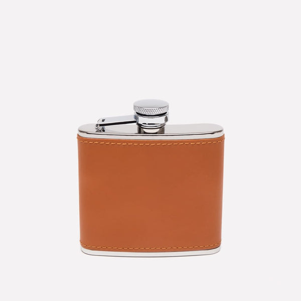 Ettinger 4oz Leather Bound Hip Flask