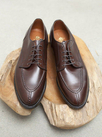 Alden NST Blucher in Brown Calf