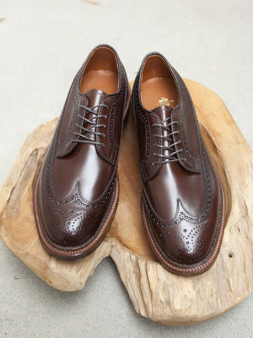Alden Longwing Blucher (LWB) in Brown Calf